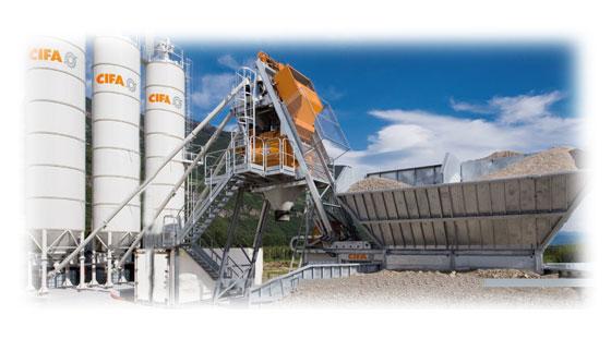 Запчасти для бетонных заводов  CIFA (ЧИФА)