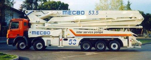 Запчасти для бетононасосов MECBO (МЕКБО)